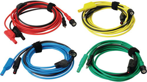 set of 4 Premium test leads 3M long