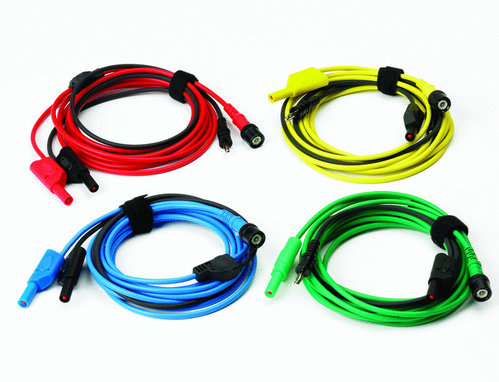 set of 4 Premium test leads 5M long