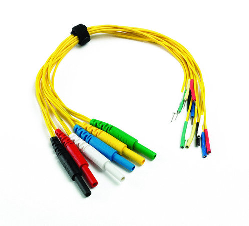 6 way universal breakout lead yellow (small 1.5mm terminals)
