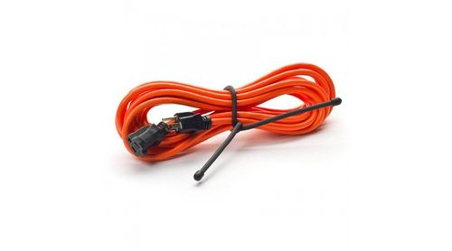 "Gear Tie 18"" bright orange 6 pack"