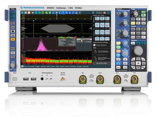 RTO2000 Series Oscilloscope - Up to 6GHz Bandwidth
