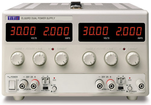 EL302RD - Bench DC Power Supply, Linear Regulation, Analog Controls 2 x 30V/2A Dual Outputs