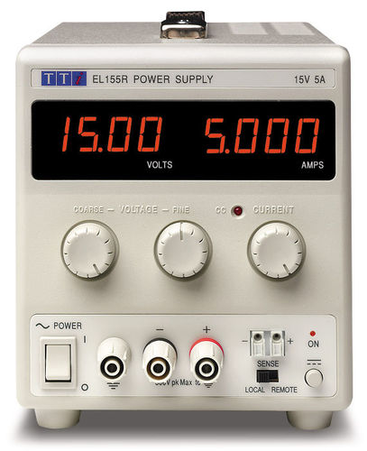 EL302P - Bench DC Power Supply, Linear Regulation, Analog Controls 30V/2A Single Output, RS-232