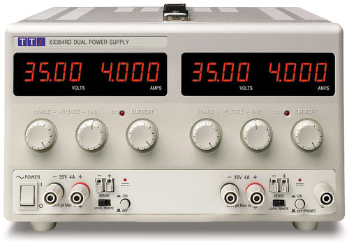 EX354RD - Bench DC Power Supply, Mixed-mode Regulation, Analog Controls Dual Output 2 x 35V/4A