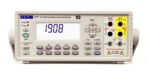 1908P - 5.5 digit Dual Measurement Bench Multimeter with USB, RS232, LAN/LXI and GPIB interfaces