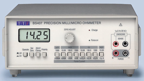 BS407 - Precision Micro Ohmmeter