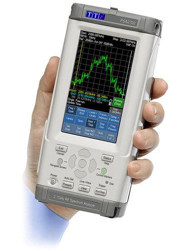 PSA1302 - Handheld RF Spectrum Analyzers 1.3GHz Spectrum Analyzer