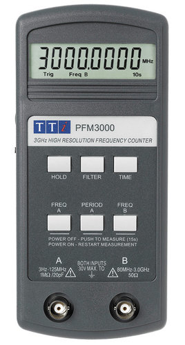 PFM3000 - Handheld 3GHz Freqency Counter