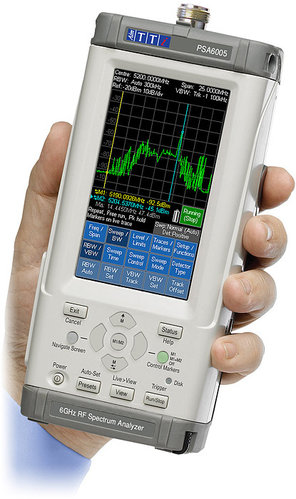 PSA6005 - Handheld RF Spectrum Analyzers 6.0GHz Spectrum Analyzer