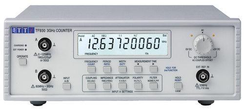 TF930 - Bench/portable universal counters with USB interface 3GHz Counter