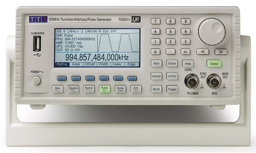 TG5011A - High Performance Function/Arbitrary/Pulse Generator 50MHz, One Channel