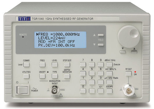 TGR1040GP - 1GHz RF Signal Generator, RS232 with GPIB interface