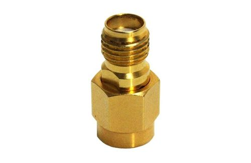 18 GHz 50R SMA connector adapter (m-f)