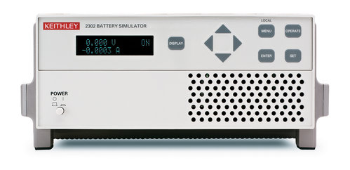 KEITHLEY-2302-PJ - BATTERY SIMULATOR W/ 500MA RANGE