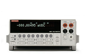KEITHLEY-2002 - 8.5d DMM W/8K MEMORY