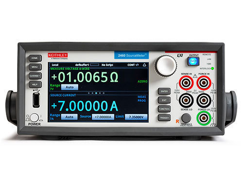 KEITHLEY-2460-RACK - HI CURRENT DIGITAL SOURCE METER WITHOUT BUMPERS AND HANDLES
