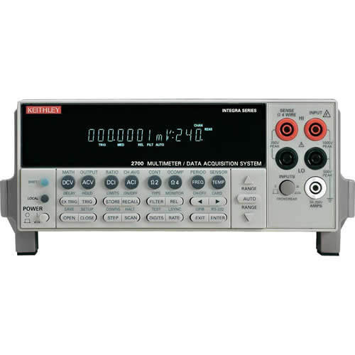 KEITHLEY-2700/7700/E - DMM/DATA ACQUISITION SYSTEM W/20 CH MULTIPLEXER