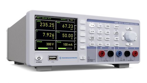 R&S® HMC8015 - Power Analyzer, up to 600 V(RMS),up to 20 A(RMS), DC to 100 kHz,500kSa