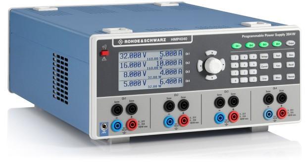 r s hmp4040 quadruple high performance power supply 4 x 0 32v