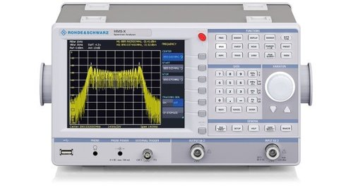 R&S® HMS-X - HMS-X R&S 1.6GHz Spectrum Analyzer,base unit, 100kHz to 1,6GHz/3GHz,-104dBm to +20dBm