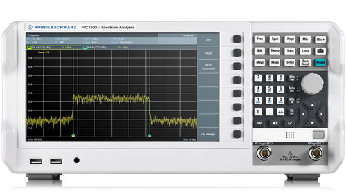 R&S®FPC1000 Series Spectrum Analyzer 9kHz-1GHz/2GHz/3GHz