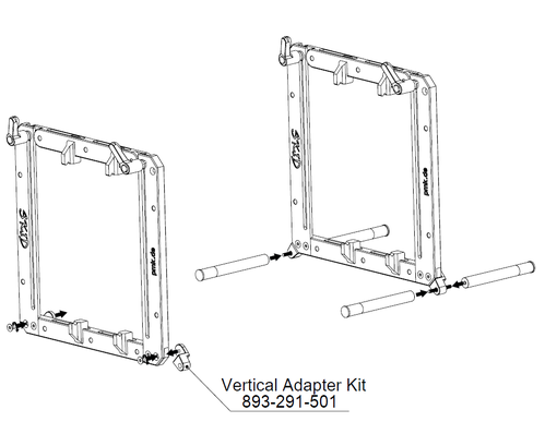 VERT-A-SKID-KIT - Skid vertical Adapter Kit