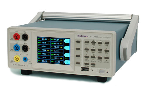 TEK-PA1000 - PA1000 Single-Phase Power Analyzer