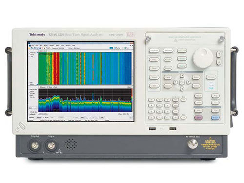 TEK-RSA6114B - REAL TIME SIGNAL ANALYZER; 9 kHz-14 GHz, 40 MHz Acq. BW