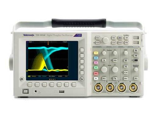 TEK-TDS3012C - OSCILLOSCOPE; DPO, 1.25 GS/S, 2/4 CHANNEL