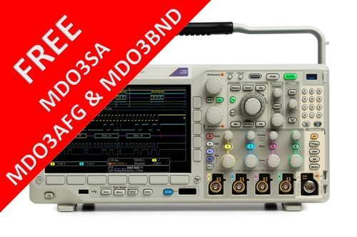 MDO3000 Series 500MHz-1GHz Oscilloscope Promotion