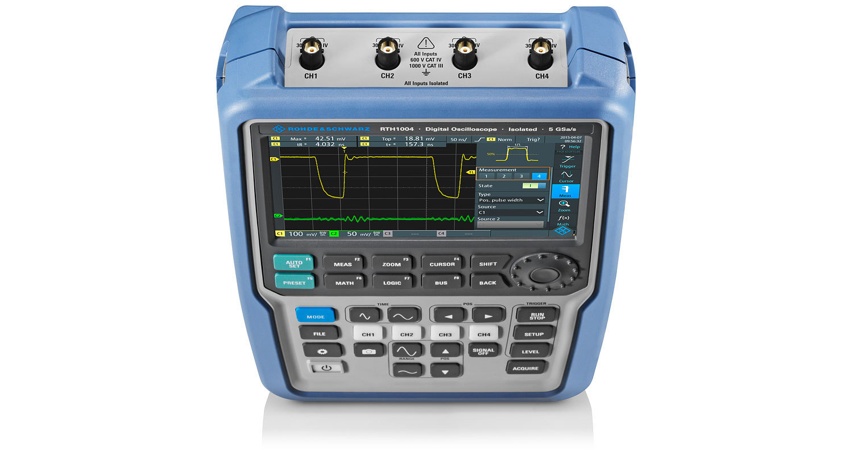 R&S® RTH1054 - 25% Off, Ex-Demo 500MHz, 4CH oscilloscope