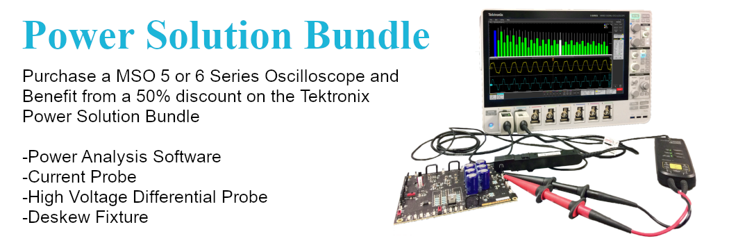 Tektronix Power Solution Bundle