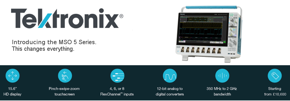 Introducing the Tektronix MSO5 series